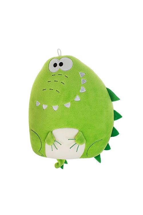 Игрушка мягконабивная Веселый крокодилПлюшевые игрушки<br>15*20см, лайкра, зеленая<br>