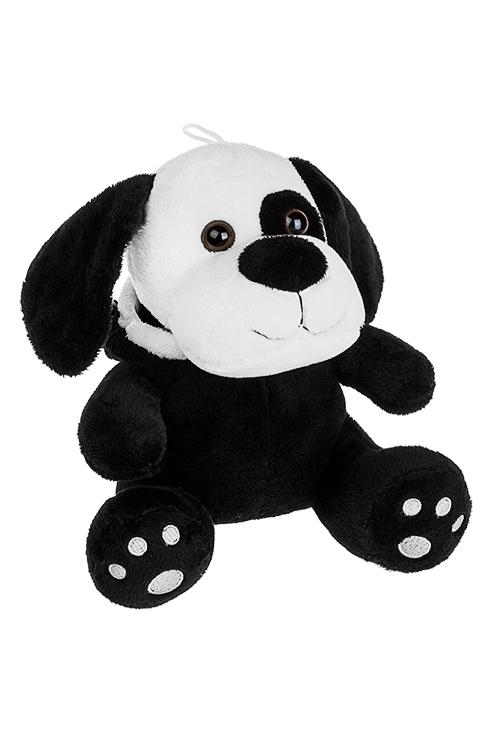 Игрушка мягконабивная КотопесИгрушки и куклы<br>19*21см, текстиль, бело-черная<br>