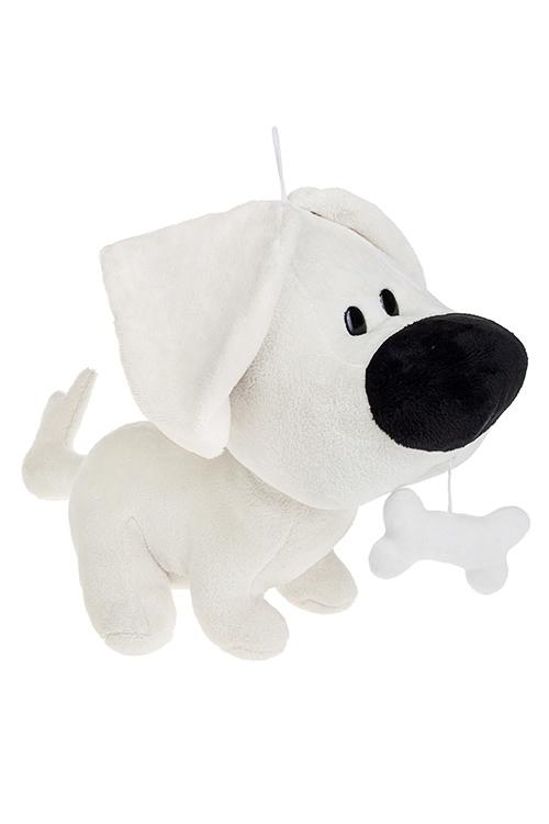 Игрушка мягконабивная ЛакиПлюшевые игрушки<br>32*25см, текстиль, крем.<br>