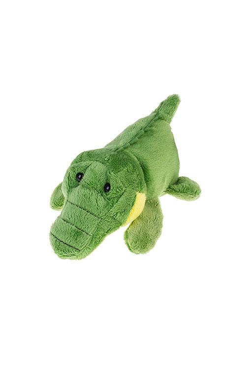 Держатель-магнит КрокодилСувениры и упаковка<br>Выс=15см, текстиль, зеленый<br>
