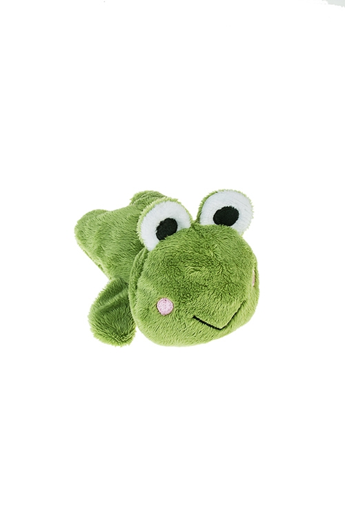 Держатель-магнит ЛягушонокСувениры для женщин<br>Выс=13см, текстиль, зеленый<br>