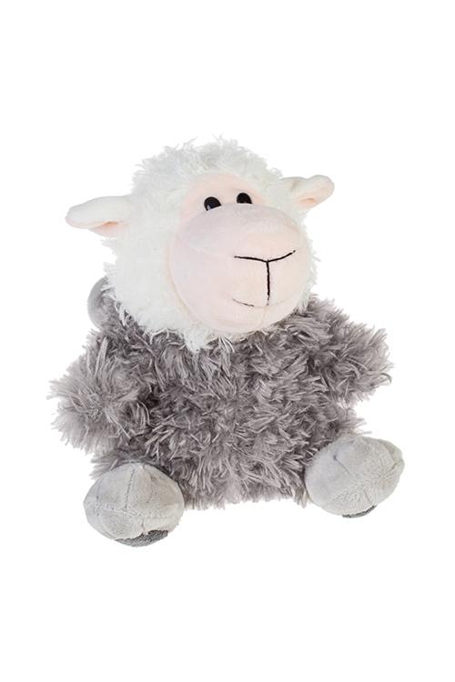 Игрушка мягкая ОвцеволкИгрушки и куклы<br>30*23см, текстиль, бело-серая<br>