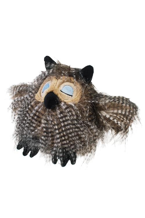 Игрушка мягкая Совушка - умная головушкаИгрушки и куклы<br>24*35см, текстиль, серая<br>