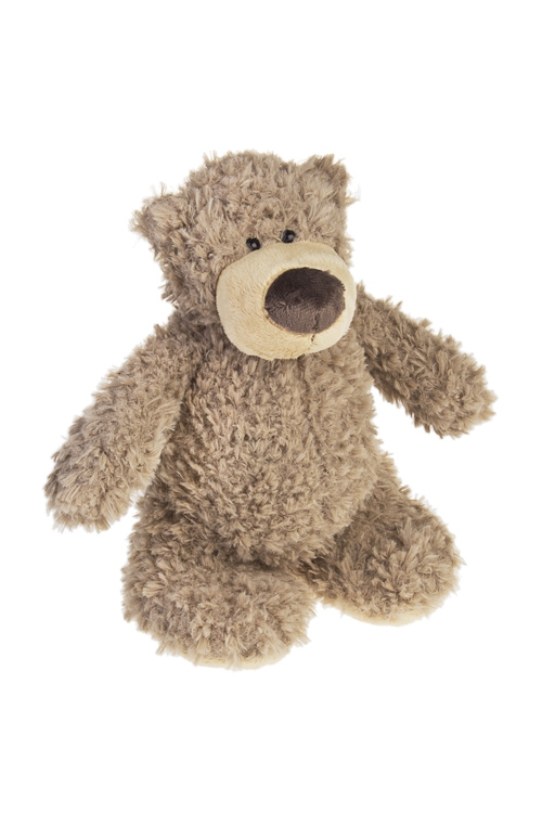 Игрушка мягконабивная МишуткаПлюшевые игрушки<br>Выс=11см, текстиль, светло-коричн.<br>