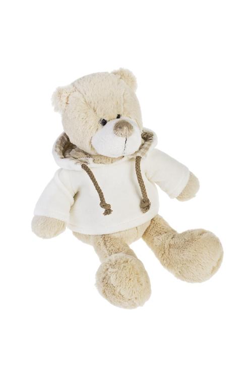 Игрушка мягконабивная Мишутка в кофточкеПлюшевые игрушки<br>Выс=19см, текстиль, крем.<br>