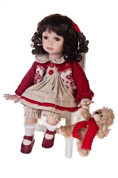 "Кукла ""Малышка в свитере"" - 1"