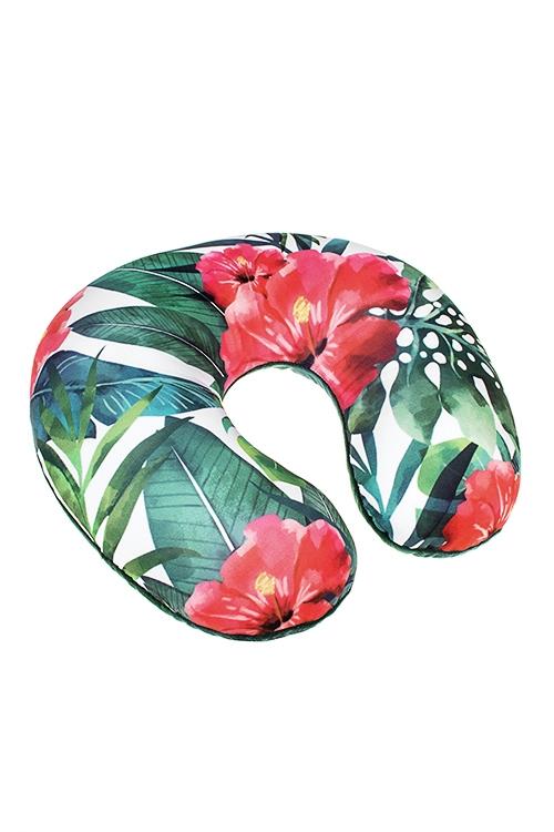 Подушка-подголовник ТропикиПодарки ко дню рождения<br>25*30см, текстиль, разноцв.<br>