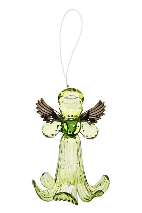 Украшение декоративное Ангелочек с сердцем - 1