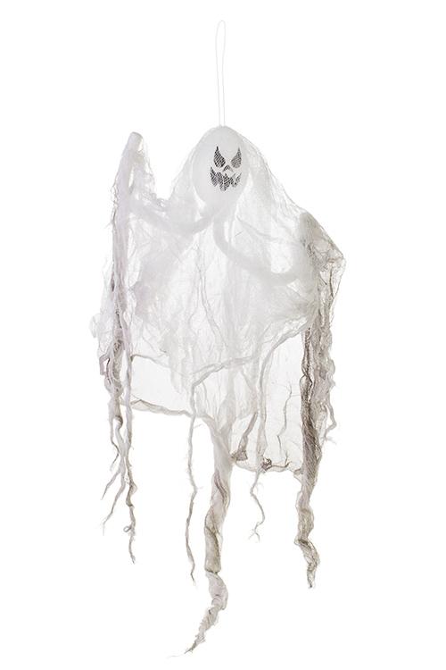Украшение для интерьера ПривиденьеПодарки на Хэллоуин<br>Выс=60см, текстиль, пластм., пенопласт, бело-серое<br>
