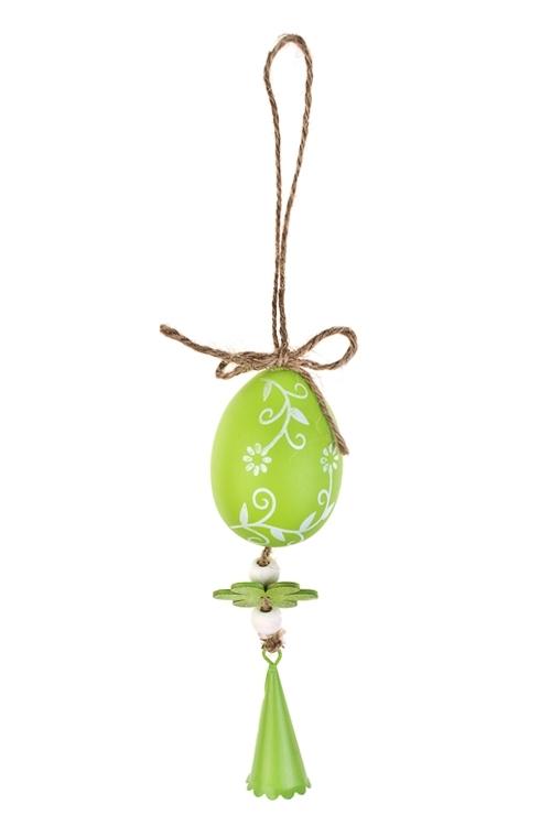 Украшение декоративное Пасхальное настроениеДекоративные гирлянды и подвески<br>Дл=20см, пластм., металл, подвесное (2 вида)<br>