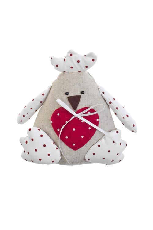 Игрушка мягконабивная Счастливый цыпаИгрушки и куклы<br>Выс=16см, текстиль, подвесная, ручн. раб.<br>