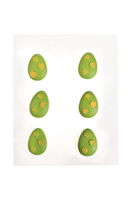 Набор украшений декоративных ЯичкиСувениры и упаковка<br>Выс=3см, полирезин<br>
