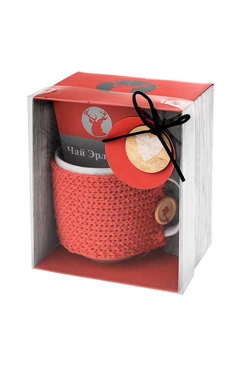 Набор подарочный СогревающийНаборы кружек<br>Кружка керам. 350мл, чай Эрл Грей<br>