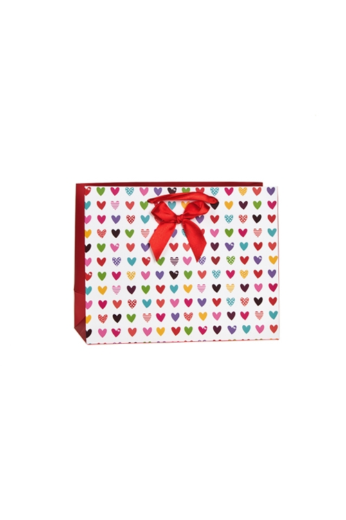 """Пакет подарочный """"Сердца"""" - 1"""