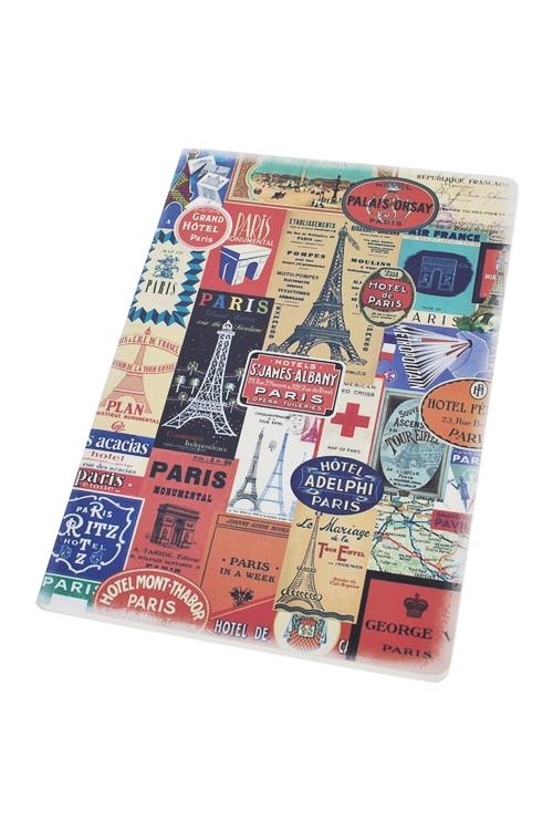 Записная книжка Увлекательный ПарижЗаписные и телефонные книжки<br>14*20см, 60 листов, бум.<br>