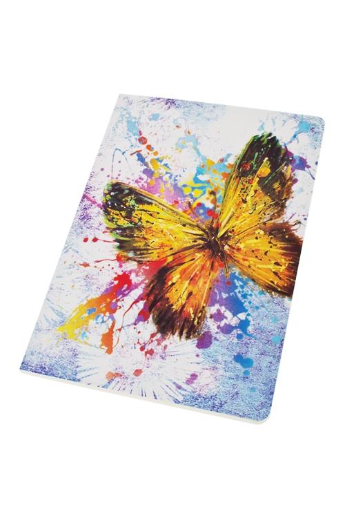Записная книжка Полет бабочкиЗаписные и телефонные книжки<br>14*20см, 60 листов, бум.<br>