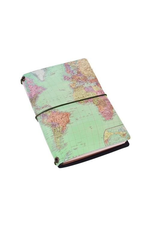 Записная книжка КартаУчеба и работа<br>13*9см, 72 листа, бум.<br>