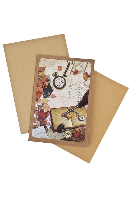 Открытка подарочная РетроПодарки для женщин<br>17*11см, бум., с конвертом<br>
