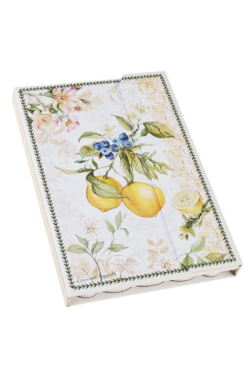 Записная книжка Солнечный лимонЗаписные и телефонные книжки<br>11*15.5см, бум. (состоит их 3-х частей)<br>