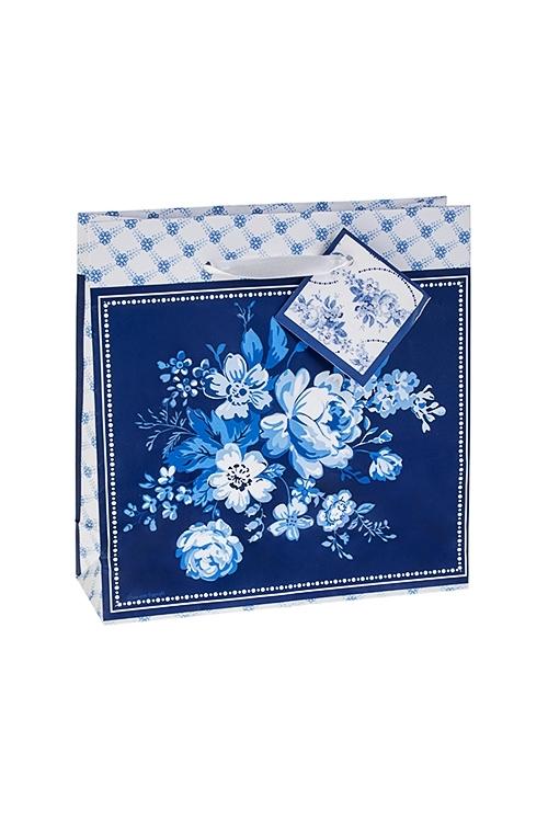 Пакет подарочный Волшебные цветыСувениры и упаковка<br>18*6*18см, бум.<br>