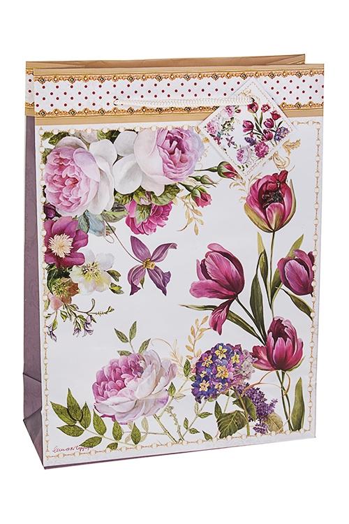 Пакет подарочный Прекрасный садСувениры и упаковка<br>20*8*27см, бум.<br>