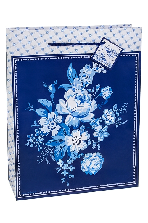 Пакет подарочный Волшебные цветыСувениры и упаковка<br>27*10*34см, бум.<br>