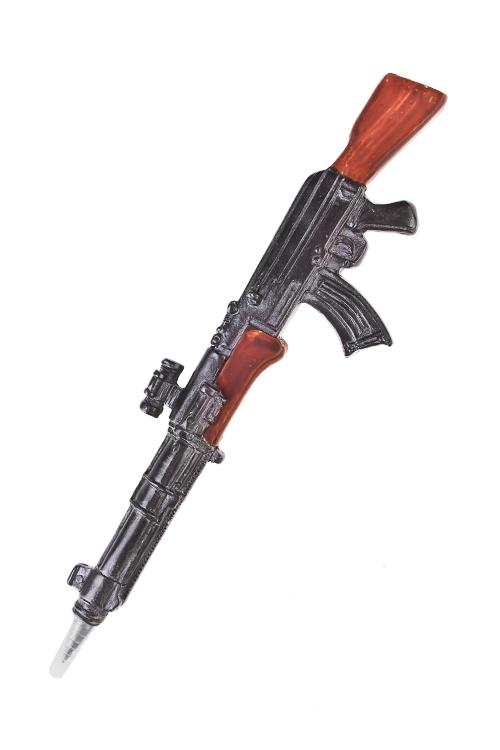 Ручка шариковая Автомат АК-47Учеба и работа<br>Дл=16см, полирезин<br>