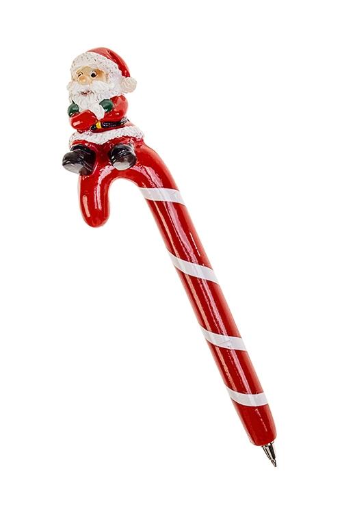 Ручка шариковая Деловой Дед МорозУчеба и работа<br>Дл=16см, полирезин<br>