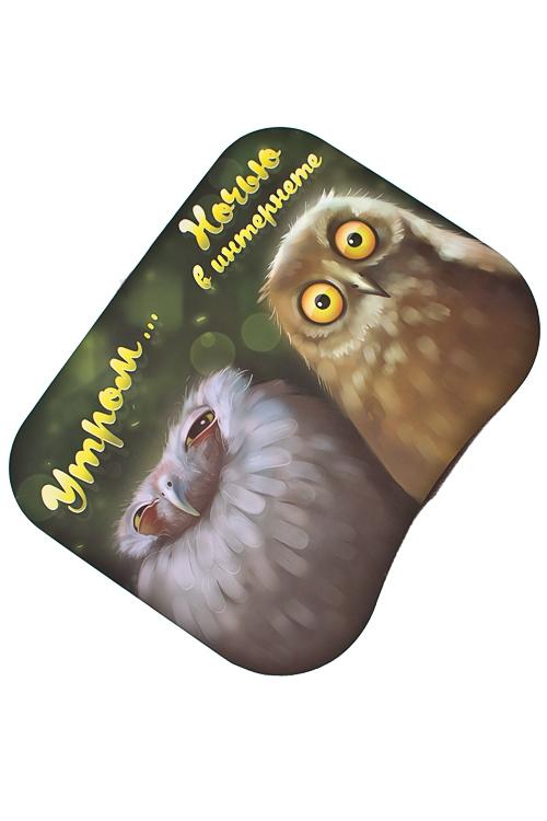 Подставка для ноутбука с подушкой Утром и ночьюПодставки для ноутбуков<br>48*38см, МДФ, текстиль<br>