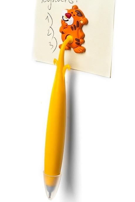 Ручка Милые зверушкиРучки и карандаши<br>С магнитным держателем, полирезин (4 вида)<br>