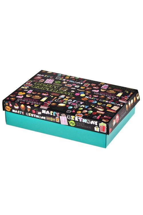 Коробка подарочная Праздничные атрибутыСувениры и упаковка<br>32*24*7.6см, бум.<br>