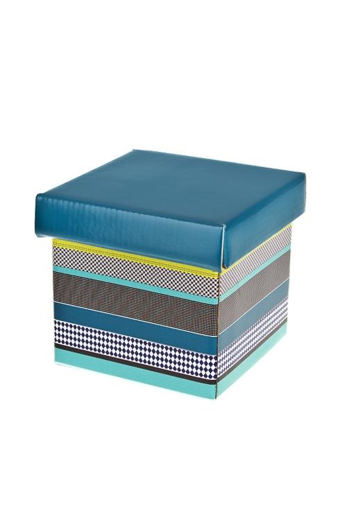 Коробка подарочная Стильное поздравлениеКвадратные подарочные коробки<br>21.5*21.5*21.5см, бум.<br>