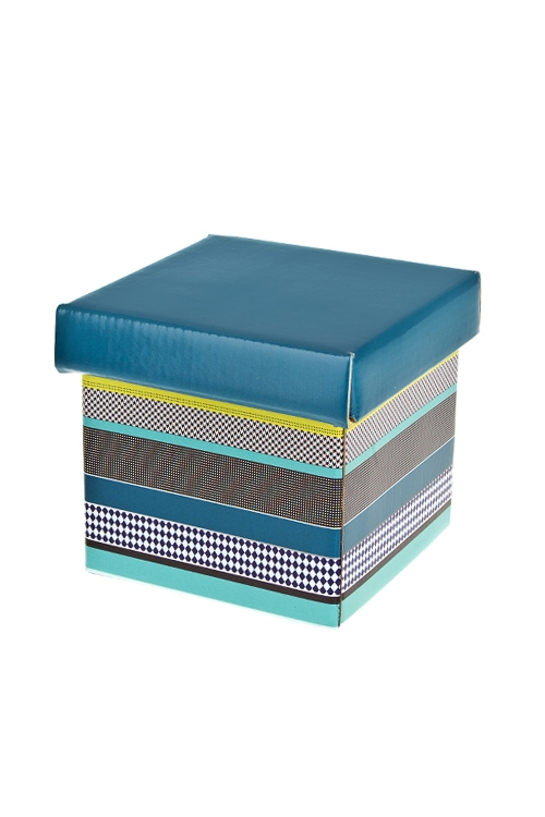 Коробка подарочная Стильное поздравлениеКвадратные подарочные коробки<br>26*26*26см, бум.<br>