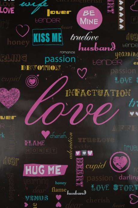 Бумага упаковочная Истинная любовьСувениры и упаковка<br>70*100см<br>