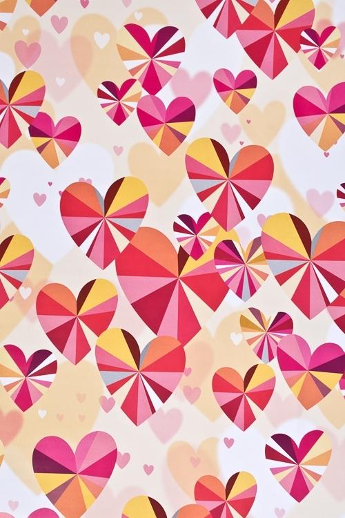 Бумага упаковочная Кристальные сердцаСувениры и упаковка<br>70*100см<br>