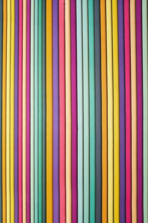 Бумага упаковочная Пластилиновые полосыУпаковочная бумага<br>70*100см<br>