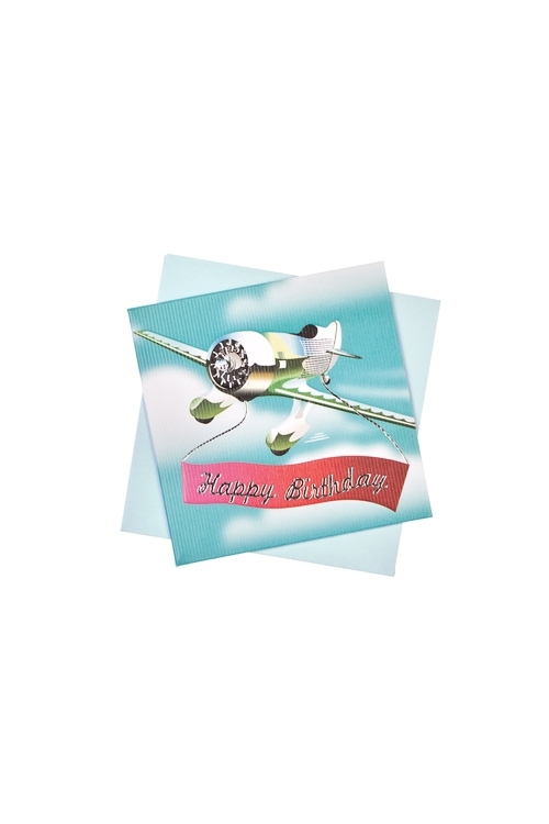 Открытка подарочная Небесное поздравлениеСувениры и упаковка<br>7*7см, бум., с конвертом<br>