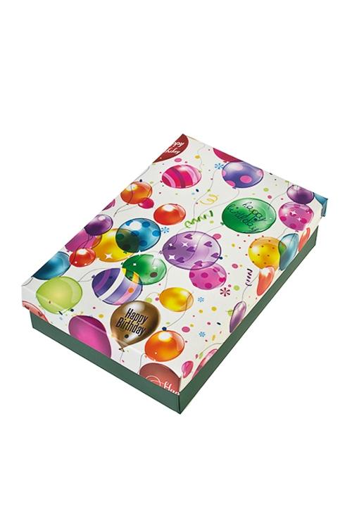 Коробка подарочная Воздушное поздравлениеУзкие подарочные коробки<br>24*17*6см, бум.<br>