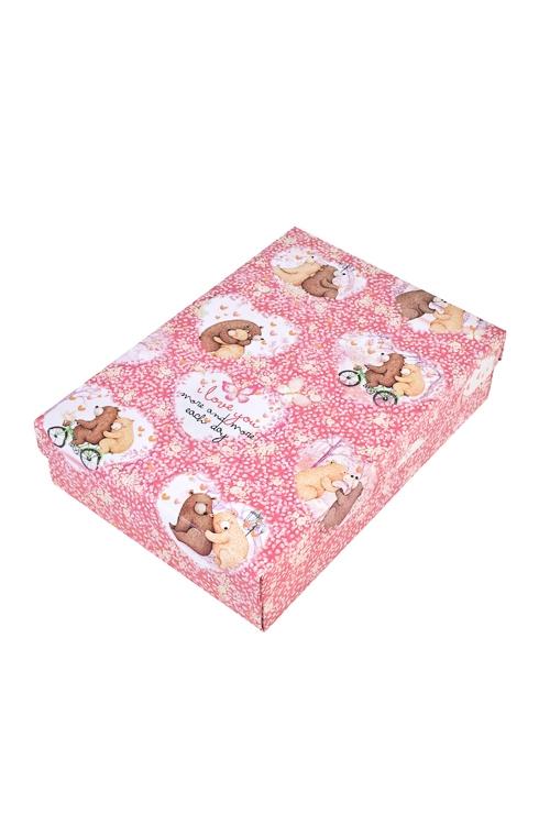 Коробка подарочная Любовная историяСувениры и упаковка<br>24*17*6см, бум.<br>