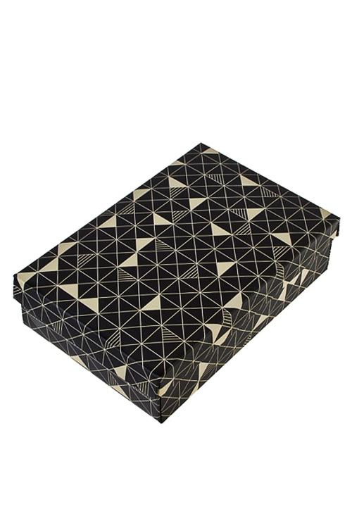 Коробка подарочная Стильный калейдоскопУзкие подарочные коробки<br>27*20.5*6.8см, бум.<br>