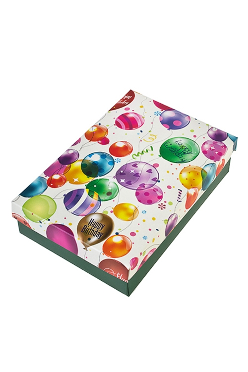 Коробка подарочная Воздушное поздравлениеСувениры и упаковка<br>27*20.5*6.8см, бум.<br>