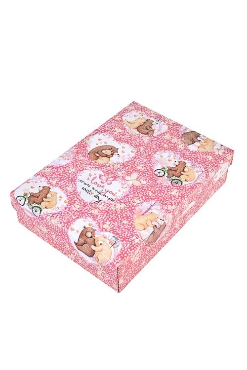 Коробка подарочная Любовная историяСувениры и упаковка<br>27*20.5*6.8см, бум.<br>