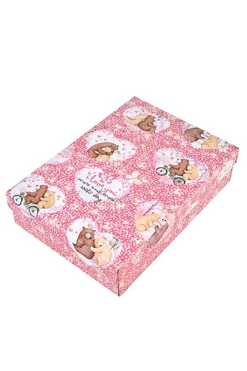 Коробка подарочная Любовная историяСувениры и упаковка<br>32*24*7.6см, бум.<br>