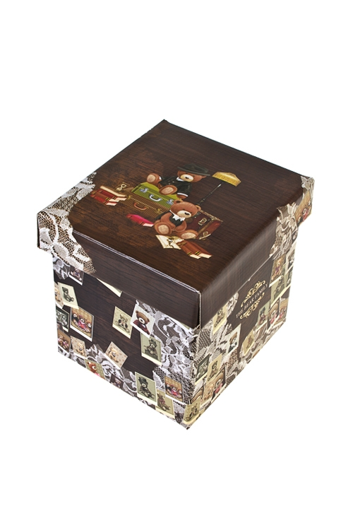 Коробка подарочная Семейный альбомСувениры и упаковка<br>17*15*16.8см, бум.<br>
