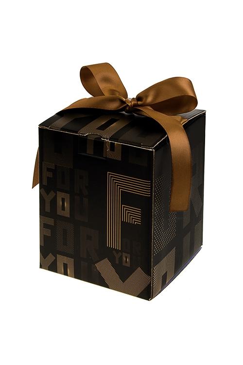Коробка подарочная Сюрприз для тебяСувениры и упаковка<br>12*12*14.5см, бум., с лентой<br>