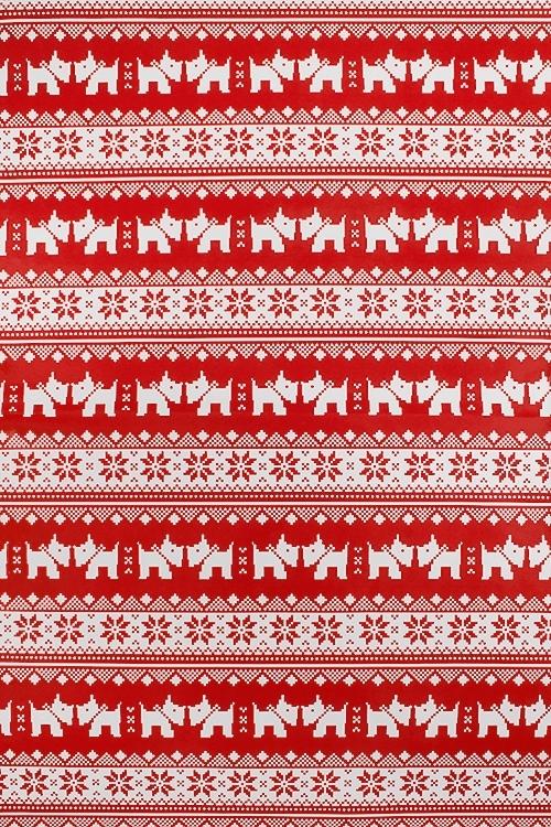 Бумага упаковочная новогодняя Норвежский песикСувениры и упаковка<br>70*100см<br>