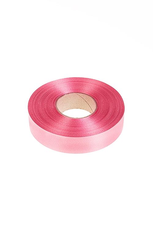 Лента упаковочная БлескСувениры и упаковка<br>Ш=2см, Дл=1м, полипропилен, розовая<br>