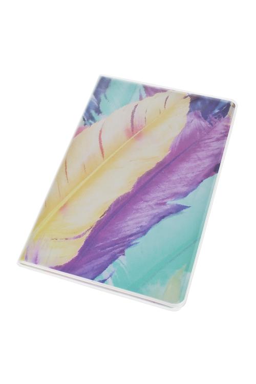 Записная книжка Волшебное перышкоЗаписные и телефонные книжки<br>14*21см, 96 листов, бум., в линейку<br>