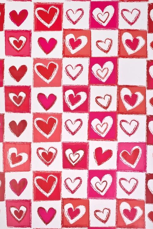 Бумага упаковочная Любовная лотереяСувениры и упаковка<br>70*100см<br>