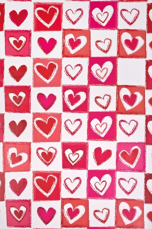 Бумага упаковочная Любовная лотереяУпаковочная бумага<br>70*100см<br>